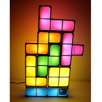 Tetris Lampe / Light Detail 2