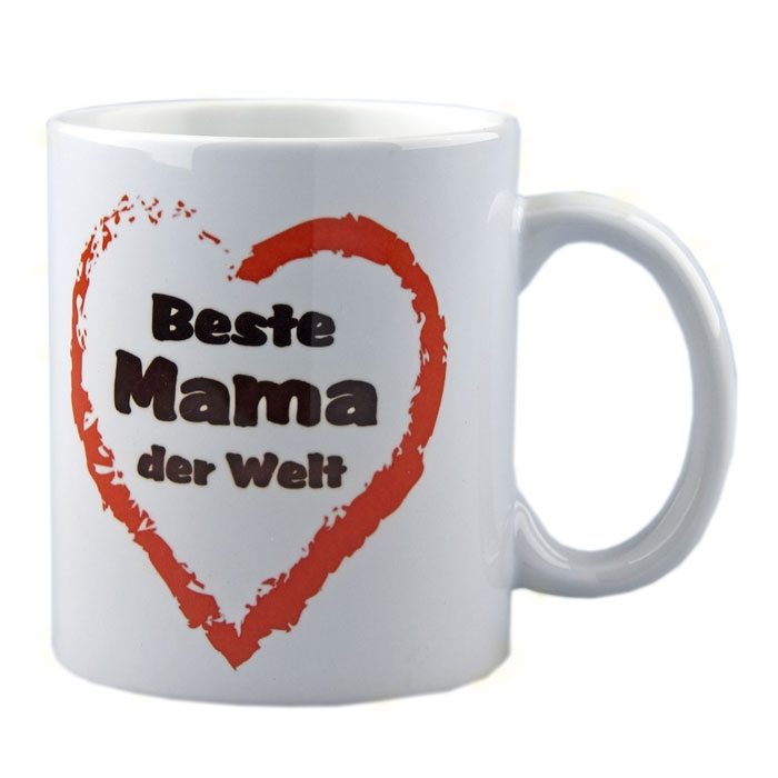 tasse beste mama der welt. Black Bedroom Furniture Sets. Home Design Ideas